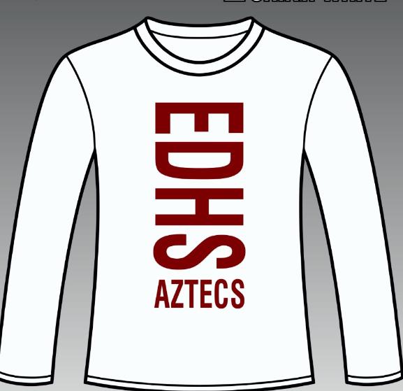 2017 Cheer shirt (red)