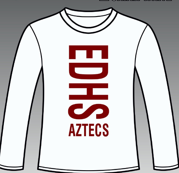 2017 Cheer shirt (red)
